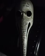 @IlMedicodellaPeste (falcinellilaura2) Tags: maschera venezia ilmedicodellapeste medico peste blackandwhite biancoenero becchino becco