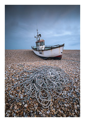 Dungeness - October 19th (Edd Allen) Tags: dungeness powerstation kent sea seaside coastguard lookout seascape tower architecture sky atmosphere atmospheric buclic serene autumn uk england britain nikon d810 zeissdistagon18mm clouds sunset boats shingle
