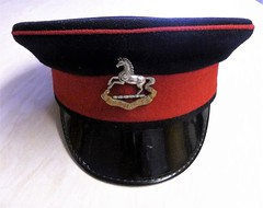"""The Kings Regiment ( Liverpool) """"The Leather Hats"""" (martyboy2 of Britain) Tags: the kings regiment liverpool leather hats lnfantry british army parade cap"""