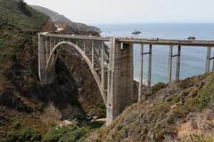 Bixby Creek Bridge (raffaele pagani) Tags: bixbybridge bixbycreekbridge openspandrelarchbridge reinforcedconcrete bridge bigsur bigsurcoast jackkerouac bigsurnovel soundsofthepacificoceanatbigsur ilrespirodibigsur thebigsurbreath highway1 cabrillohwy pacificcoast montereycounty california unitedstates stradapanoramica panoramicroad panorama paesaggio seascape oceanview oceano oceanopacifico pacificocean beach atmospheres top10worldfamousstreets canon
