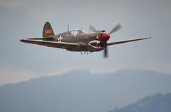 Curtiss P-40E Kittyhawk_539 (Archie Richardson) Tags: curtisp40e kittyhawk airshow abbotsford 2018