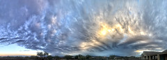 Cloudscape: Morning Frontal Passage (northern_nights) Tags: sunrise pano panorama cloudscape skyscape clouds sky vail arizona