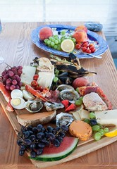 Charcuterie Platter with Seafood for Glamping (katalaynet) Tags: follow happy me fun photooftheday beautiful love friends