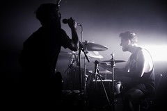 (thomas.lindholm) Tags: hexis pentaxart pentaxflickraward bwartaward whiteonblack blackonwhite blackwhite bnw bw pentaxphotography flickrsbest flickr snapseed ios apple pentax ricoh odense fyn danmark denmark dk bassplayer bass drummer live livemusic concertphotography music koncert concert teatermomentum