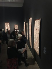 tarnanthi / john mawurndjul opening-35 (bill doyle [mobile]) Tags: traditional indigenous aboriginal abstract iphone7plus culture billdoyle exhibition opening southaustralia aborigine event southaustralian sa art artgalleryofsouthaustralia opening2018 artexhibition adelaide artist artwork iphone7 openingnight cultural agsa