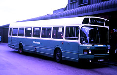 Slide 125-32 (Steve Guess) Tags: west yorkshire england gb uk bus westriding leyland national mk2 xua75x pontefract