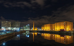 Canning Dock Reflections (gmorriswk) Tags: longexposure reflections reflection liverpoolhilton merseysidemaritimemuseum pumphouse liverpool england unitedkingdom gb