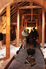 History revisited (gordontour) Tags: experimentalarchaeology recreation norse viking greenland qassiarsuk history heritage tourism interior architecture wooden traditional construction