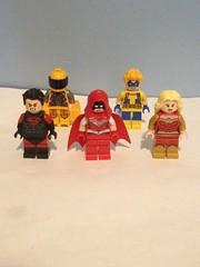 Rogueverse Teen Titans (Part 1 of 2) (Enøshima) Tags: redbird impulse superboy trickster wonder girl bart allen tim drake axel walker cassandra sandsmark