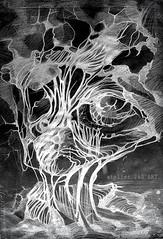 夜の生物学 (alice 240) Tags: 夜の生物学 modernart contemporaryart artist visualpoetry visualart alice240 atelier240art art alicealicjacieliczka expressionism surreal expression surrealism illustration museum traditionalart gallery poetry magic dream mixedmedia artistic creative dark drawing