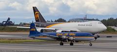 Time travelers (Alaskan Dude) Tags: tedstevensinternationalairport planespotting planewatching anc panc airplane airplanes aviation boeing airport airports