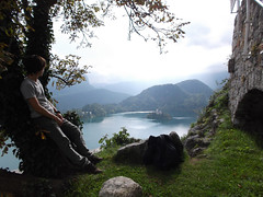 Fantasy Land (self with Lake Bled) (marco_albcs) Tags: bled slovenia slovenija castle lake islet view landscape legendary mythical self fantastic fantasy