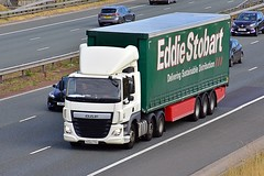 NX64 TYU (Martin's Online Photography) Tags: daf cf truck wagon lorry vehicle freight haulage commercial transport a1m northyorkshire nikon eddiestobart