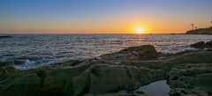 Laguna beach (m.limbeek) Tags: water californie summer lagunabeach landscape sunset goldenhour usa