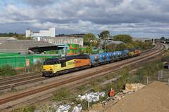 67023 Wellingborough (Gridboy56) Tags: rhtt mml locomotive locomotives uk europe england railways railroad railfreight trains train wellingborough wagons northamptonshire finedon 67023 67027