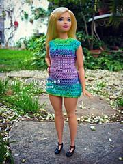 (Linayum) Tags: barbie barbiedoll barbiecurvy mattel doll dolls muñeca muñecas toys toy juguetes juguete curvybarbie toycollector handmade crochet ganchillo linayum