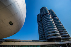 München2018-170BMW (schulzharri) Tags: müncen munich bayern bavaria deutschland germany europe europa gebäude alt old building sky blue himmel bau architektur