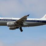 N745VJ - American Airbus A319 - Allegheny Retro Livery thumbnail
