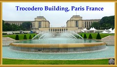 Paris France. The Trocodero Building and fountain (> Pinoy) Tags: trocoderobuilding trocoderofountain paris parisfrance landscapes landscape landmark fountains europe 2018 2019 travels worldtravel world worldtravels aroundtheworld sony sonycameragroups sonycameras sonyfdrax53 france famousplaces portdabilly jardinsdutrocodero muettesud french treadtravels