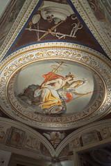 Palazzo Farnese a Caprarola - sala dell'Ermatena (giuseppesavo) Tags: pp9354 pentax photivo ks1 gimp gmic linux ubuntumate italia italy viterbo caprarola palazzofarnese vignola lazio latium architecture art paints pentaxda1224f4 cioccotuscia