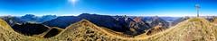 Panorama von der Bleispitze (stefangruber82) Tags: alpen alps tirol tyrol mountains berge herbst fall panorama