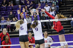 Washington Arizona-FT4I1641 (Pacific Northwest Volleyball Photography) Tags: volleyball ncaa pac12 pac12vb womensvolleyball arizona washington uwhuskies