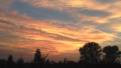 The Singing Sky (umfzkc) Tags: icorti sunset sky cielo tramonto timelapse fantastic albairate italia