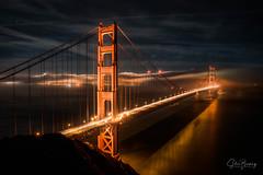 Battery Lit III (sberkley123) Tags: sausalito longexposure tamron nikon marin california sunset d850 2470mm marinheadlands fog sanfrancisco batteryspencer goldengatebridge usa