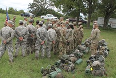 Cadets get some words of wisdom_SEP18.jpg (militarysciencealumniclub) Tags: military science alumni club