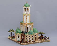 Aslanic Temple in Barqa (Jonas Wide ('Gideon')) Tags: lego goh barqa architecture medieval fantasy kaliphlin