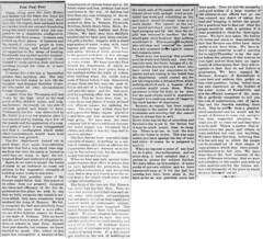 1891 - Fire promps Sinnginger to call for water works again - Enquirer - 6 Nov 1891