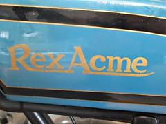 683 Rex Acme Badge - Brief History (robertknight16) Tags: rex acme rexacme badge badges automobilia motorbike motorcycle bike brooklands