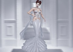 Mila Blauvelt (Mila Blauvelt) Tags: milablauvelt model blogger avatar virtual secondlife shopping sl style gown bodymesh classicavatar jewellry