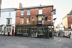 Lincoln, Magna Carta (Clanger's England) Tags: england lincoln lincolnshire wwwenglishtownsnet marstons pub poe