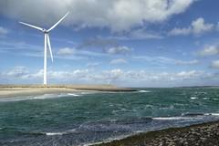Wind (And Hei) Tags: zeeland domburg middelburg neeltjejans holland netherlands niederlande meer sea northsea water damm dam energy windmill turbine sun sky clouds cloud