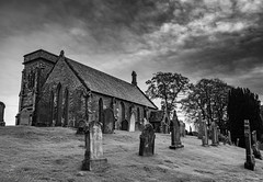 Corsock and Kirkpatrick Durham Church_ (stevef16G) Tags: church scotland olympus outdoor outdoorphotography blackwhite dumfries architecture em1mk2 landscape view