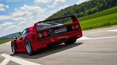Ferrari F40 (chumako@bellsouth.net) Tags: exotic highway racing car red gtsport gaming ps4 playstation f40 ferrari