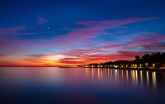 Sunset in Marbella (juansánchez.) Tags: sonyrx10 beach playa atardecer largaexposición longeexposure marbella sunsetbeach sunset