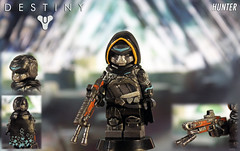 Custom LEGO Destiny: Hunter (LegoMatic9) Tags: custom lego destiny hunter forsaken 2 vault glass