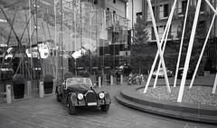 @The Chedi Andermatt (Toni_V) Tags: m2409320 rangefinder messsucher leicam leica mp typ240 type240 28mm elmaritm12828asph andermatt thechedi grandluxuryhotel car uri switzerland schweiz suisse svizzera svizra europe blackwhite bw monochrome sep2 silverefexpro2 niksoftware ©toniv 2018 180929