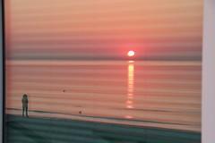 Spiegelung (Hans-Jürgen Böckmann) Tags: spiegelung sonnenaufgang scharbeutz lübeckerbucht balticsea ostsee sunrise