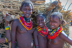 Daasanach tribe village, Omo Valley, Ethiopia (CamelKW) Tags: ethiopia2017 daasanachtribevillage omovalley ethiopia
