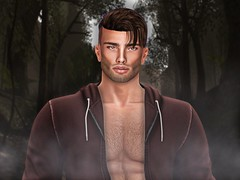 After Brandon (itspaisleythequeenbee) Tags: photo epic beautiful adorable cute handsome male models model famous secondlife firestorm photoshop jacket october halloween christmas decoration backdrop smoke red sexy