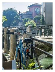 Lido (LuisGMillan) Tags: lido venecia canal puente villa