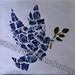 """Dove of Peace"" by Jennifer R, mosaic, $130.00"