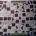 """Ladybug on the Wall"" by Ilham K, mosaic, $35.00"