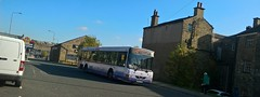 Brighouse (Andrew Stopford) Tags: w808dwx volvo b10ble wright renown first brighouse