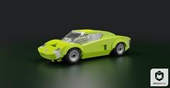 MLV Canvas SFV (Makaleves Lego Vehicles) Tags: lego mlv canvas sfv supercar super car old retro classic vehicle fast