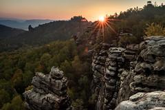 Elbsbandstein (SaschaHaaseFotografie) Tags: grã¼n elbsbandstein sachsen deutschland milchstrase landschaft landscape sascha haase sun sunset sunrise sonne sonnenuntergang sonnenaufgang sony a7 sächsiche schweiz