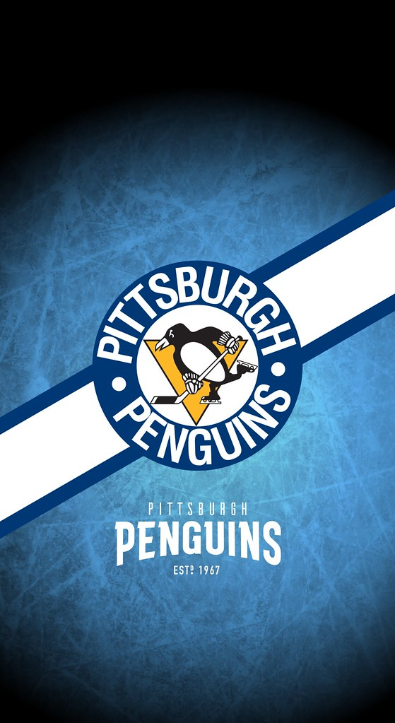 Pittsburgh Penguins (NHL) iPhone X/XS/XR Lock Screen Wallpaper (Rob